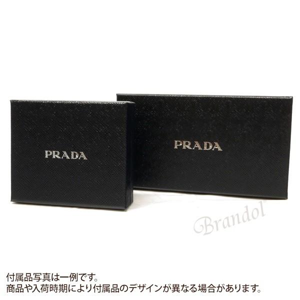 プラダ PRADA レディース 長財布 パスケース付 リボン レザー ウォレット ブラック 1MH132 ZTM F0002 / NERO