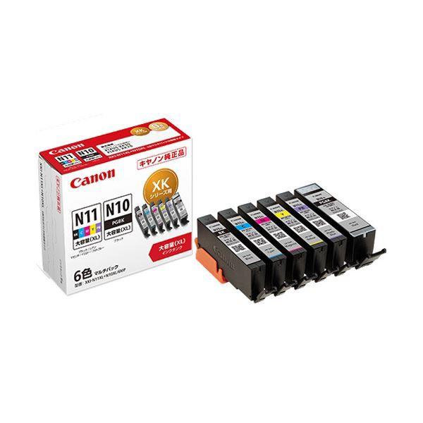 最も優遇 まとめ売りキヤノン インクタンクXKI-N11XL+N10XL/6MP 6色マルチパック 大容量 2172C002 1箱(6個:各色1個) ×3セット AV デジモノ パソコ, リビングプラザ 523b7fa3