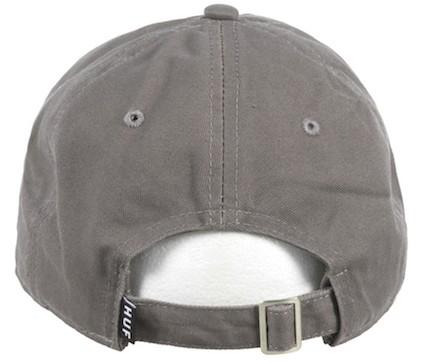 fe69cd1f1 HUF Triple Triangle Curved Brim Dad Hat Cap Grey キャップ 送料無料|au Wowma!(ワウマ)