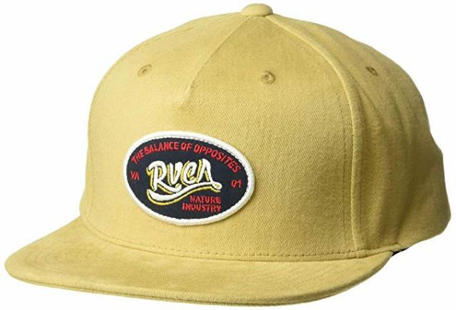 RVCA Station Snapback Hat Cap Khaki キャップ 送料無料