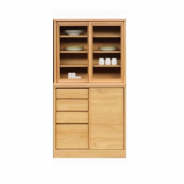 食器棚 キッチンボード  キッチン収納 ダイニングボード  キッチン収納 80 おしゃれ 完成品 日本製 キッチン収納