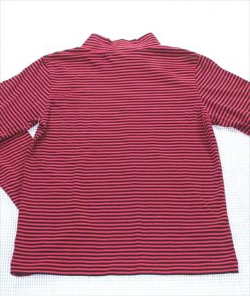 3520dd14513a5 ジェニィ Jenni 長袖Tシャツ ロンt 150cm ボーダー 黒 ピンク系 女の子 キッズ ジュニア