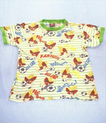6d54215f16809 ヒステリックミニ HYSTERIC mini Tシャツ 半袖 120cm 白系 ボーダー キッズ トップス 男の子 女の子 子供服