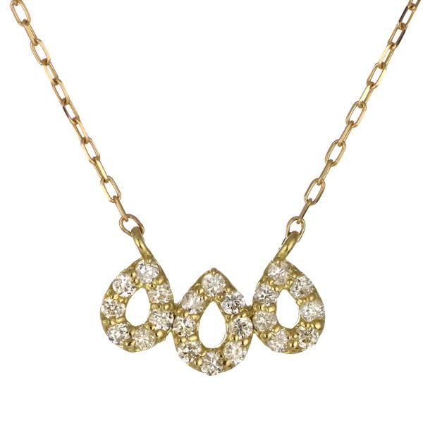 超人気高品質 ネックレス 卵 K18イエローゴールド 18金 ネックレス K18 18k ダイヤモンド しずく 卵 K18 人気 おすすめ レディース 女性, ミソノムラ:cc9f00fe --- chevron9.de