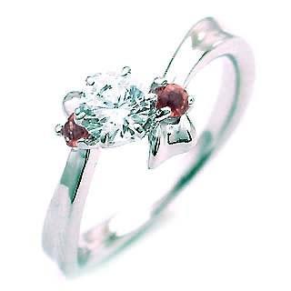 代引き人気 1月誕生石 ガーネット Ptダイヤリング 婚約指輪・エンゲージリング, スッツグン 41d1ba3b