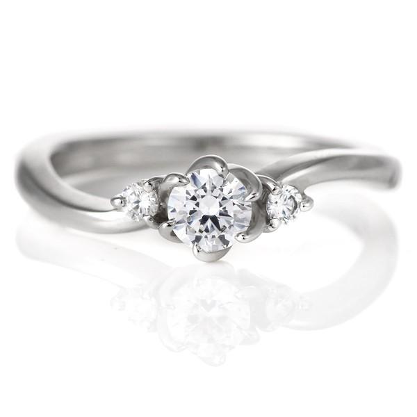 世界的に 婚約指輪 ダイヤモンド プラチナ リング 0.3ct 天然石 エンゲージリング 鑑定書, 内原町 2709e2ac