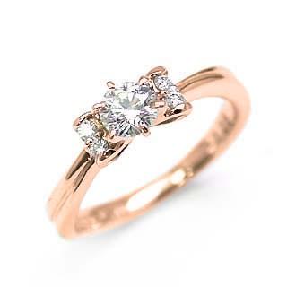 【送料無料/新品】 婚約指輪 ピンクゴールド婚約指輪 人気婚約指輪 刻印無料婚約指輪 エンゲージリング婚約指輪 ダイヤモンド婚約指輪, よろず屋タイセイ本舗 ae787a1d