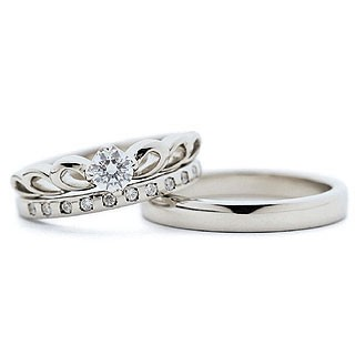 適切な価格 Brand Jewelry fresco セット プラチナ ダイヤモンドリング 婚約指輪・結婚指輪 Jewelry エンゲージ エンゲージ マリッジ セット 3本, フットケアタイム:1d289ae4 --- nak-bezirk-wiesbaden.de