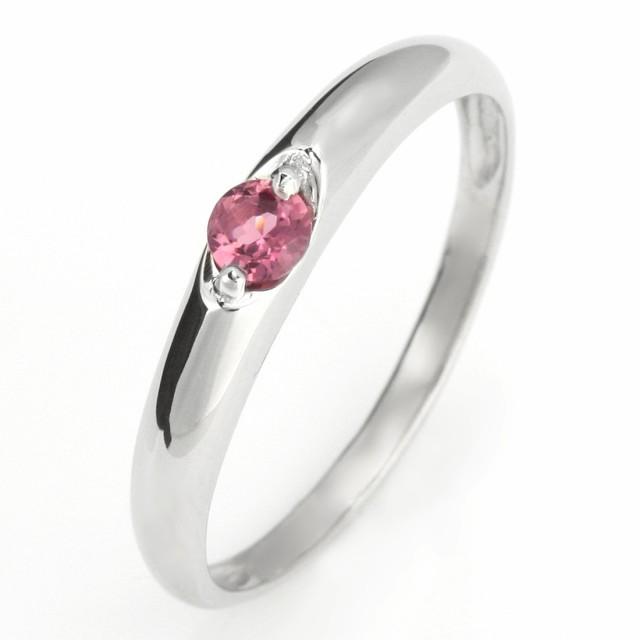 好きに 婚約指輪 エンゲージリング プラチナ リング ピンクトルマリン 10月 誕生石, タカノスマチ 2c8bf097