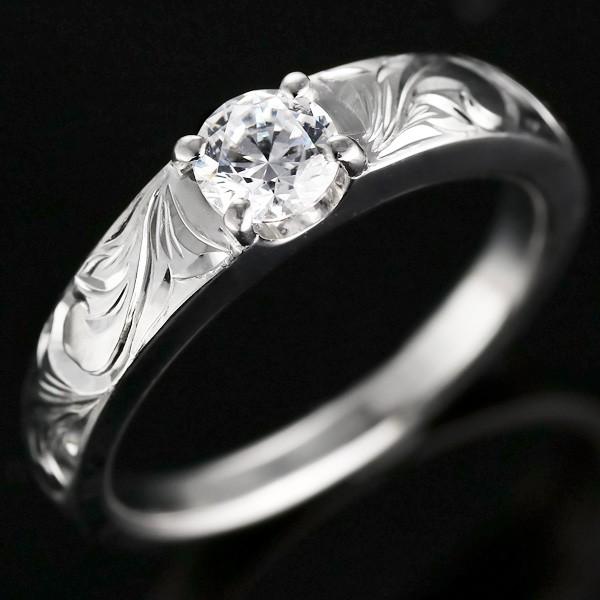 売り切れ必至! ハワイアンジュエリー ストレート 一粒 鑑別書付 結婚式 ダイヤモンド プラチナ PT900 マリッジリング 結婚指輪 ダイヤ 大粒 ペアリング-指輪・リング