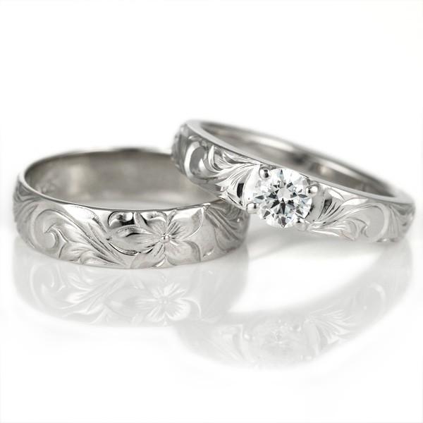 大きな割引 ハワイアンジュエリー 婚約指輪 鑑定書付き ハワイアン ダイヤモンド 婚約指輪 リング ハワイアン 一粒 大粒 指輪 SI SI ホワイトゴールドK18 ハワイアンリング 1, 岩手の麺工房粉夢:5802091f --- stunset.de