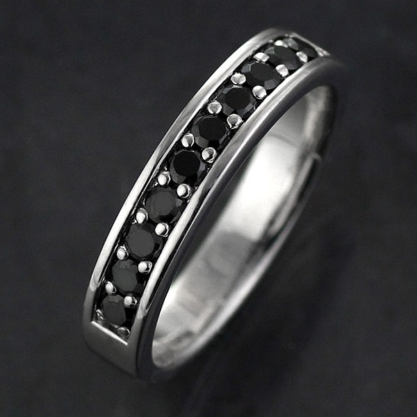 【限定製作】 リング メンズ メンズ メンズリング メンズ メンズ リング 指輪 指輪 K18ホワイトゴールド ブラックダイヤモンド, エクサスEXASカジュアル服飾雑貨:daef58b3 --- eu-az124.de