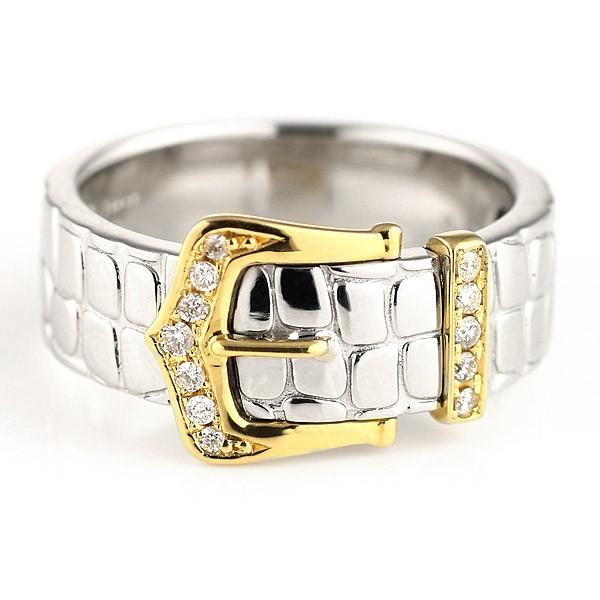 新素材新作 リング メンズ メンズリング メンズ リング 指輪 プラチナ900 K18イエローゴールド ダイヤモンド, 犬とEnjoy!ドッグパーク 3738578c