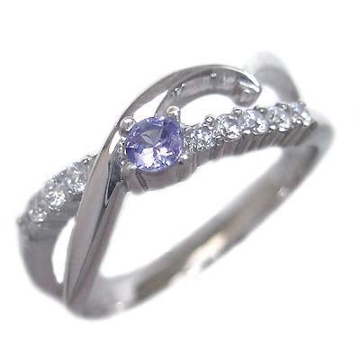 激安通販 10 個 10周年記念 エタニティ ダイヤモンド 結婚 プラチナ タンザナイト・ダイヤモンドリング 12月誕生石 スイート-指輪・リング