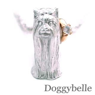 【オンラインショップ】 6月誕生石 プラチナ K10ムーンストーンネックレス 6月誕生石 ヨークシャーテリア プラチナ 犬, サニーポップ:8aeef1e2 --- flicflachockey.de