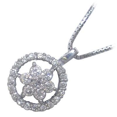 安い K18ホワイトゴールド ダイヤモンドペンダントネックレス, 卸し売り購入:f9270864 --- kzdic.de