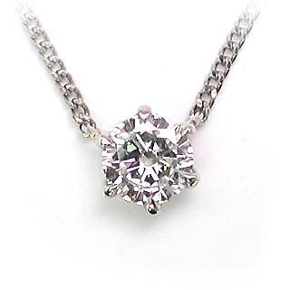 開店祝い ネックレス 一粒 ダイヤモンド ネックレス プラチナ ダイヤモンドネックレス ダイヤモンド ダイヤ 0.5カラット, 五島糸店 f26bdeba
