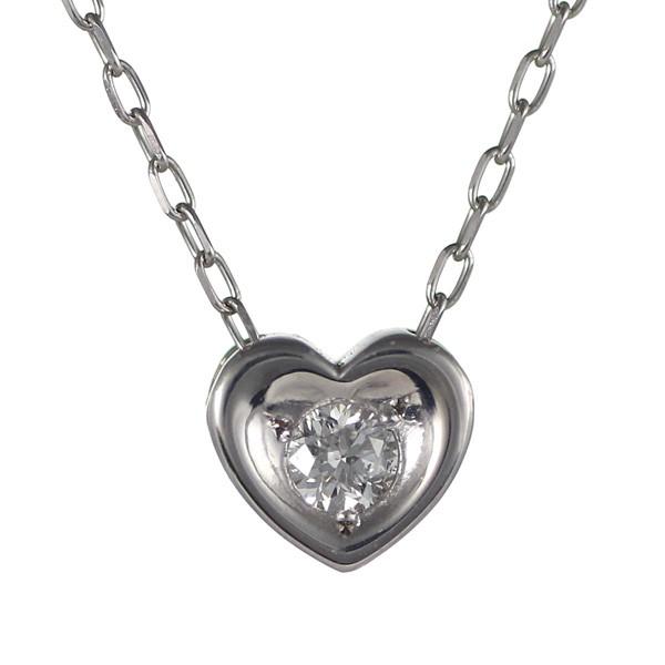 品質は非常に良い ダイヤモンド ネックレス ネックレス ハート ダイヤモンド 一粒 10金 ホワイトゴールド 10金 ネックレス, 家具の里:4e0c7ffb --- behind.freie-waehler-im-roemer.de