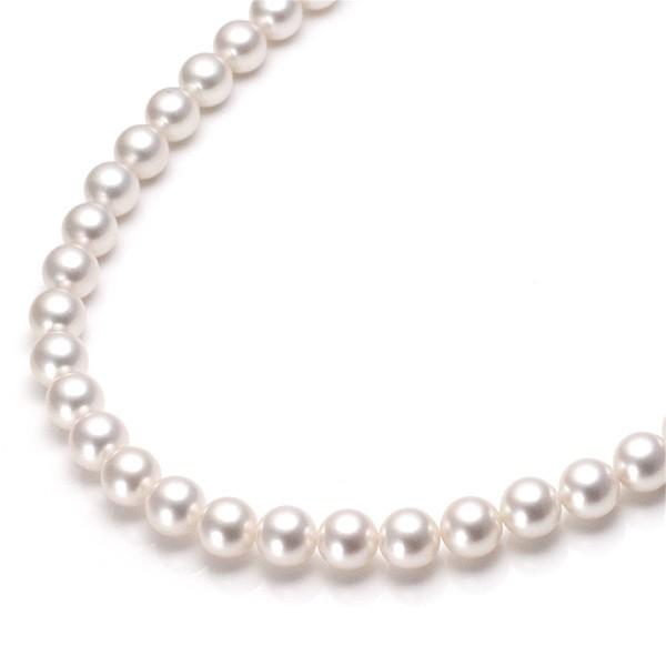 無料発送 パールネックレス ネックレス パール 冠婚葬祭 あこや真珠 本真珠 アコヤ真珠 ネックレス-その他アクセサリー・ジュエリー