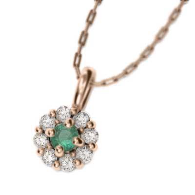ホットセール エメラルド 天然ダイヤモンド ジュエリーペンダント k18ゴールド (ホワイト イエロー ピンク), Interior Shop Stir(スティアー) 272b261d