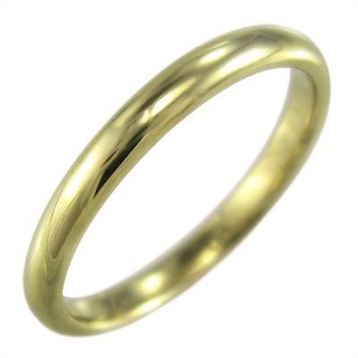 専門店では スタンダード 甲丸リング 18金ゴールド 約2.6mm幅 (ホワイト イエロー ピンク), オガツチョウ 985bdf0b