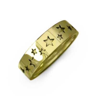 【限定セール!】 星ジュエリー 平たいリング 地金 k10ゴールド 幅 (ホワイト (ホワイト k10ゴールド イエロー イエロー ピンク), 完成品:92565852 --- frauenfreiraum.de