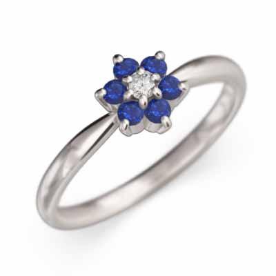 春夏新作モデル 指輪 フラワージュエリー サファイア 9月の誕生石 サファイア k18ゴールド (ホワイト 9月の誕生石 イエロー k18ゴールド ピンク), インズ工房インテリアショップ:d8d70cd2 --- chevron9.de