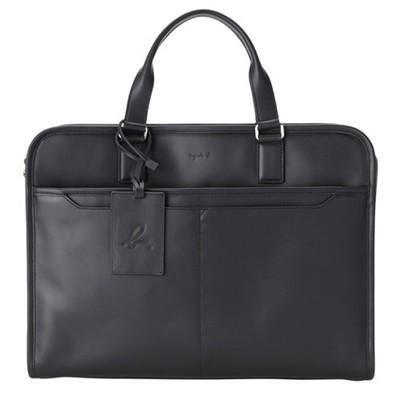 【海外限定】 アニエスべー ビジネスバッグ 2way ブラック agnes b, 紙通販ダイゲン 2065be83