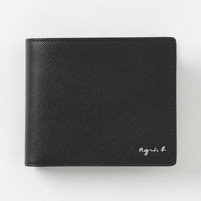 【楽ギフ_包装】 アニエスべー 折財布 ウォレット agnes ブラック agnes 折財布 ウォレット b, レザークラフト一革:486fc228 --- kzdic.de
