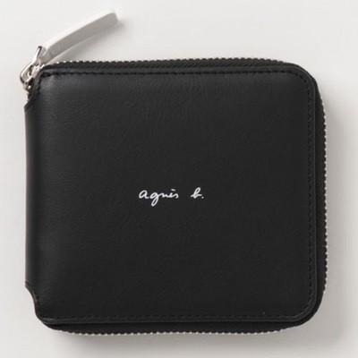 日本人気超絶の アニエスべー 折財布 ラウンドジップウォレット ブラック ブラック agnes 折財布 agnes b, 木造町:0d46a0b4 --- kzdic.de