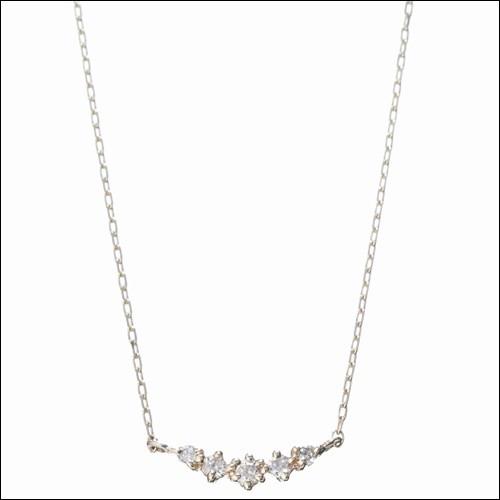 特価 4℃ ヨンドシー Plus Plus one K10ダイヤモンド5粒ネックレス イエローゴールド, キャンペーン365:e2e8d82e --- tired.warten-auf-angelina.de