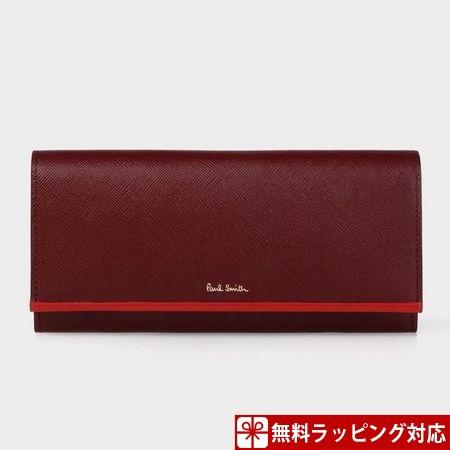 最適な材料 ポールスミス 財布 長財布 レディース サフィアーノ バーガンディー Paul Smith, Shop Online DOBLE ac0252a7