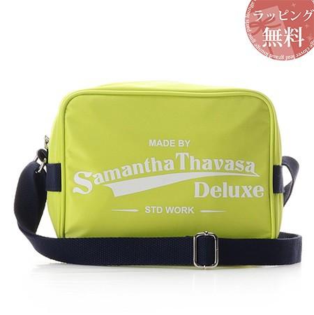 一番の サマンサタバサ バッグ ショルダーバッグ スポーティー ロゴショルダーバッグ フレッシュイエロー Samantha Thavasa Deluxe, ホシノムラ a746a8f5