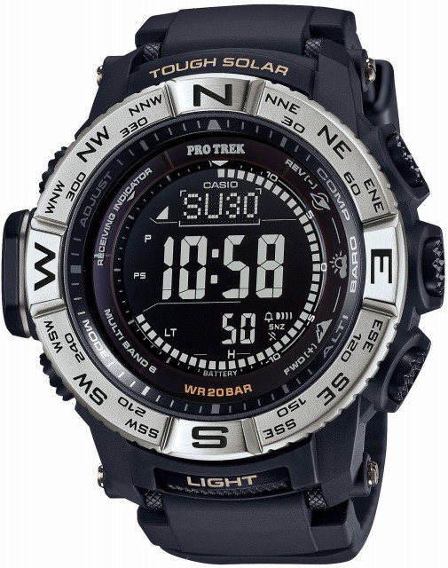 注目ブランド [店頭受取対応商品] カシオ CASIO PROTREK プロトレック PRO TREK 腕時計 トリプルセンサーVer.3搭載 世界6局対応電波ソーラー PRW-3510-, 岩国市 94da7ade