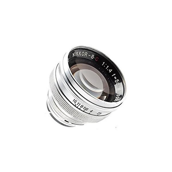 (お得な特別割引価格) F1.4 送料無料】Nikon 【 保証付 50mm Sマウント / Nikkor-S.C 交換レンズ-カメラ