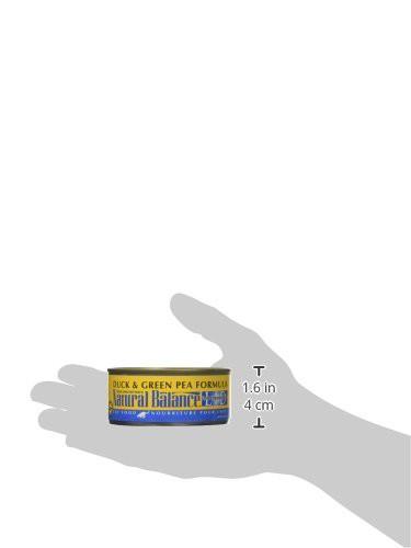 ナチュラルバランス ダック&グリーンピースフォーミュラ キャット缶 5.5オンス(156g)×24缶セット ナチュラルバランス