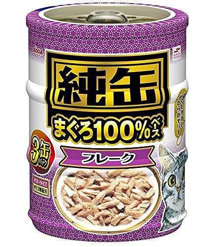 純缶 純缶ミニ3P フレーク 65g×3缶×3個入り 純缶