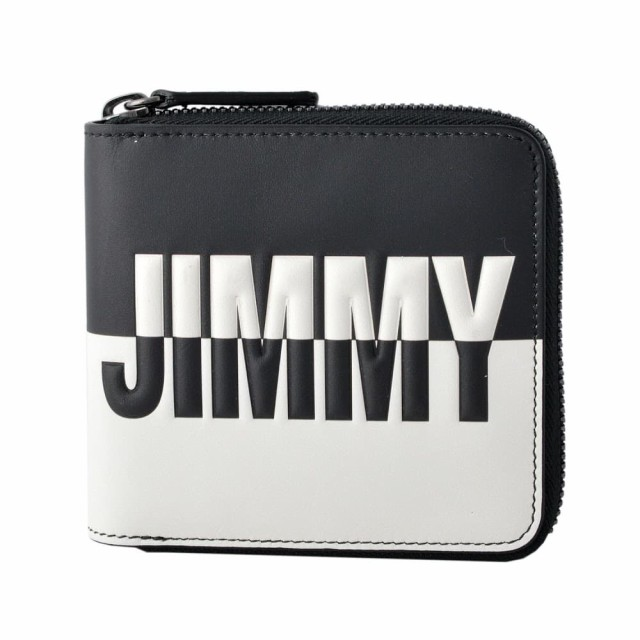 【★安心の定価販売★】 ジミーチュウ 財布 JIMMY CHOO LAWRENCE LAWRENCE BBM BLACK CHOO WHITE WHITE メンズ エンボスロゴ バイカラー 二つ折り財布, ティーイーランウェイアクセサリー:39d1baf5 --- 1gc.de