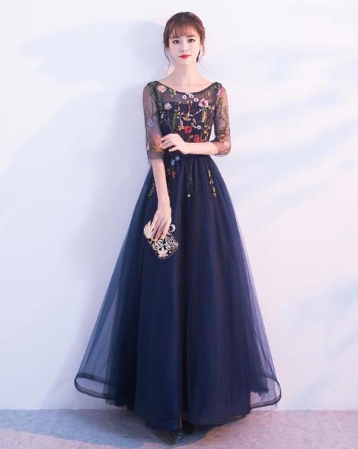 f45b8d92e6665 カラードレス レッド 結婚式 二次会 披露宴 ロング ドレス 演奏会 発表会 舞台衣装 イブニング
