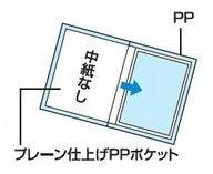 コクヨ クリヤーブック<ideamix>(固定式・サイドスロー) A4 10枚 ラ-DEAS10