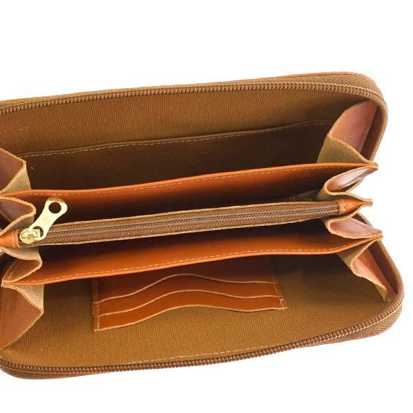 イルビソンテ 財布 長財布 IL BISONTE C0442 WALLET 145 CARAMEL P COWHIDE LEATHER 比較対照価格 37,800 円