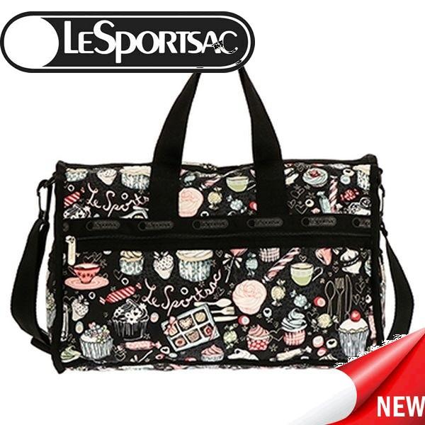 レスポートサック ボストンバッグ LESPORTSAC Midium Weekender 7184 D874 CUPCAKE S 比較対照価格 16,200 円