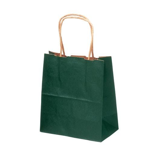 ササガワ  手提げバッグ 緑 特小