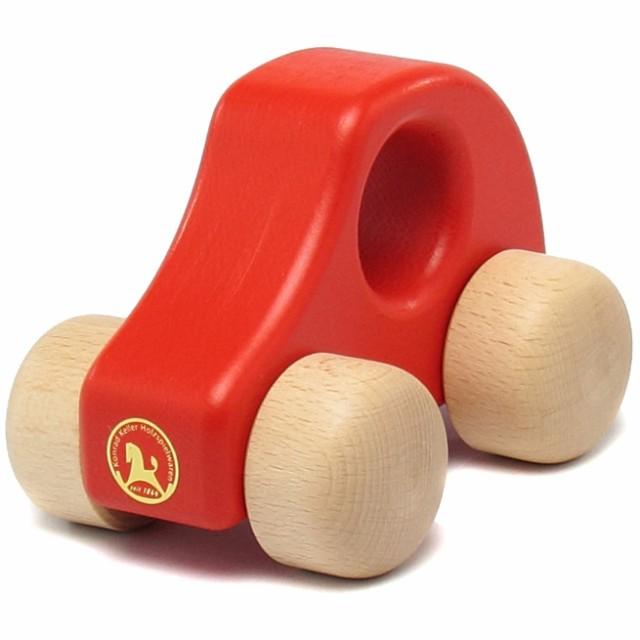 ケラー/Keller 赤ちゃんの手になじむ木の車