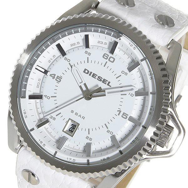 03345a3f52 ディーゼル 腕時計 メンズ DIESEL 時計 ロールケージ ホワイト 白 人気 ランキング ブランド おしゃれ 男性 ギフト プレゼント