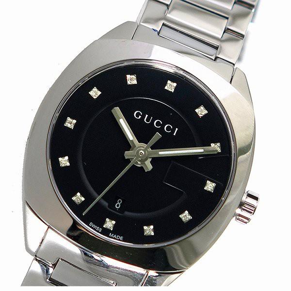 【国産】 シルバー 人気 GUCCI プレゼント グッチ 腕時計 クリスマス 時計 女性 ギフト ブランド ブラック レディース-腕時計レディース