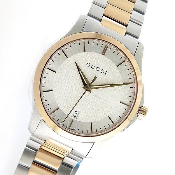 quality design bb2b7 d81c2 グッチ 腕時計 メンズ GUCCI 時計 Gタイムレス ゴールド シルバー 人気 ブランド おしゃれ 男性 ギフト クリスマス プレゼント