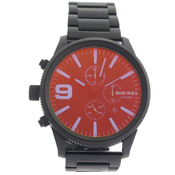 75e3237f85 ディーゼル 腕時計 メンズ DIESEL 時計 タイムフレーム ブラック 人気 ランキング ブランド おしゃれ 男性 ギフト プレゼント
