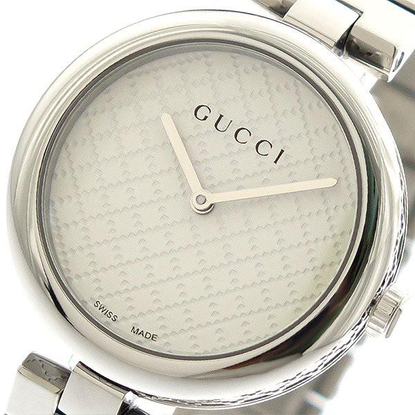 グッチ 腕時計 レディース GUCCI 時計 ホワイト シルバー 人気 ブランド 女性 ギフト クリスマス プレゼント