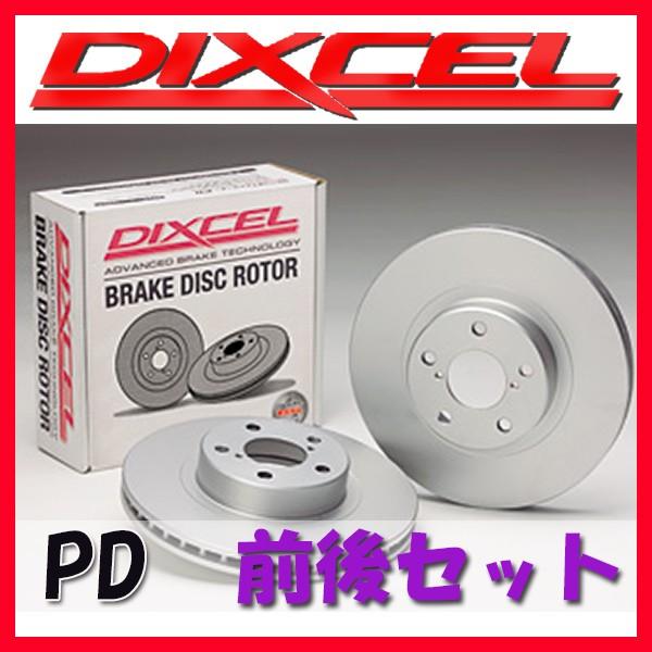 一流の品質 DIXCEL ディクセル PD ブレーキローター 1台分 IS F USE20 07/12~ PD-3129305/3169116, benky shop 0e85d0be